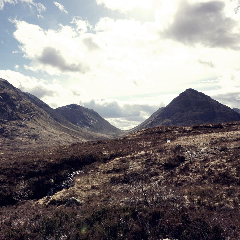Szkocja - mountains