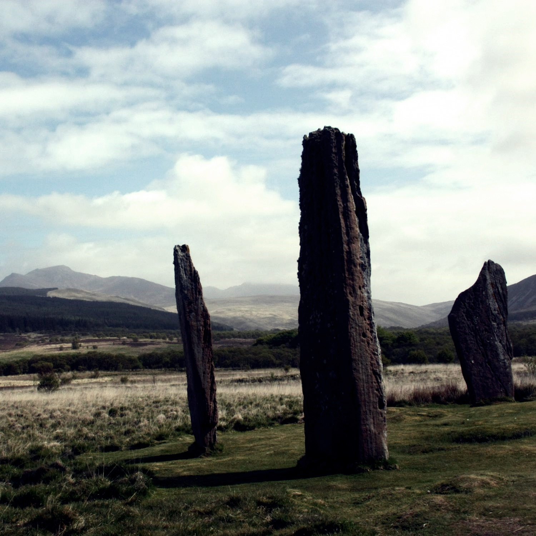 Szkocja - stone-circle